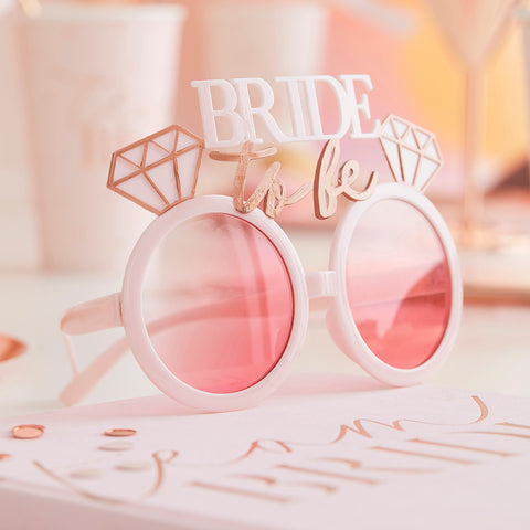 Bride To Be Sunglasses - Blush Hen Party