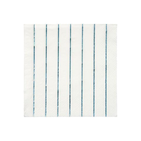 Holographic Blue Napkins Small - The Pretty Prop Shop Parties, Auckland New Zealand