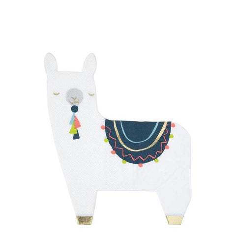 Llama Napkins - The Pretty Prop Shop Parties, Auckland New Zealand
