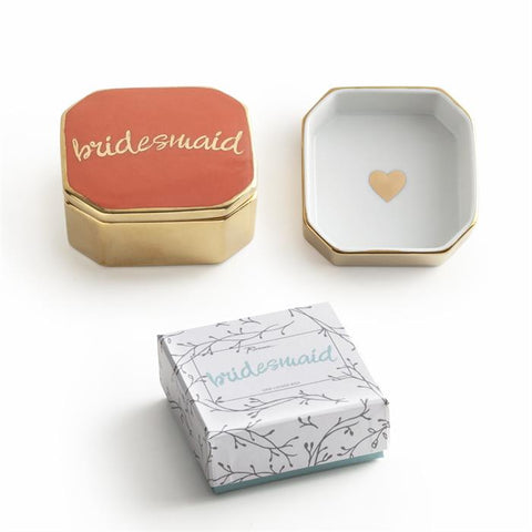 Bridesmaid Lidded Box - The Pretty Prop Shop Parties, Auckland New Zealand