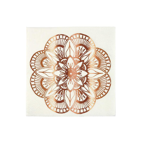 Mandala Paper Napkins Small - The Pretty Prop Shop Parties, Auckland New Zealand