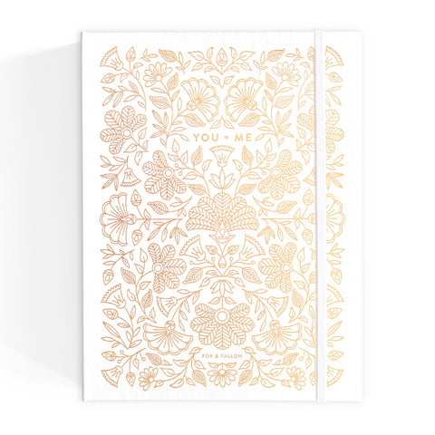 Gold Foil Wedding Planner