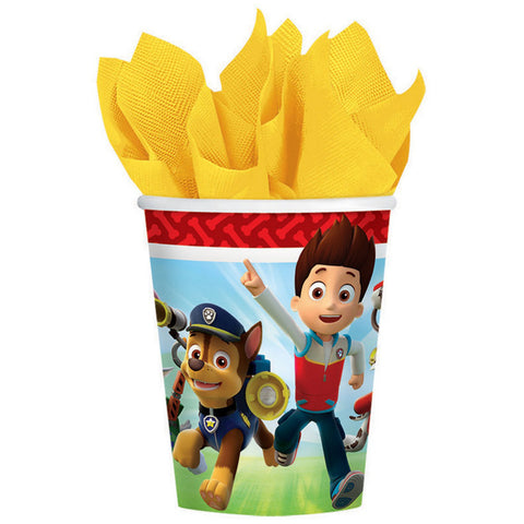 Paw Patrol Paper Cups - The Pretty Prop Shop Parties, Auckland New Zealand