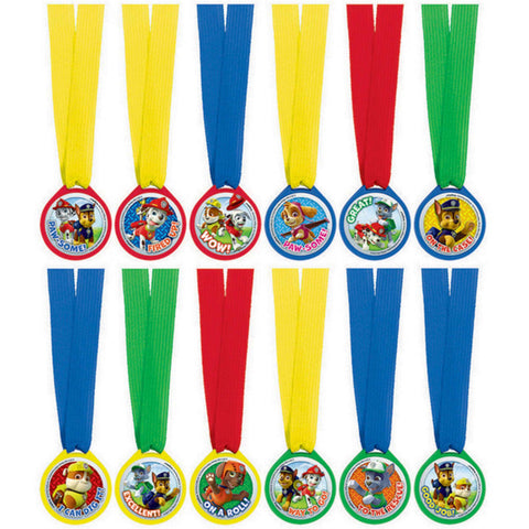 Paw Patrol Mini Award Medal Favours - The Pretty Prop Shop Parties, Auckland New Zealand