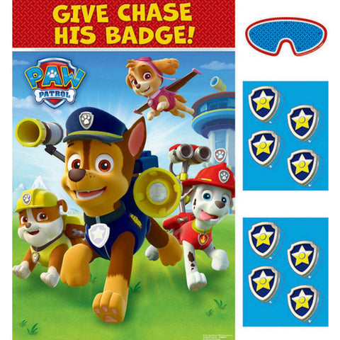 Paw Patrol Party Game - Give Chase his Badge! - The Pretty Prop Shop Parties, Auckland New Zealand