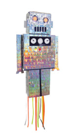 Robot Piñata - The Pretty Prop Shop Parties, Auckland New Zealand
