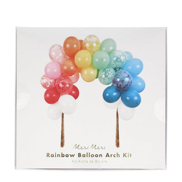 Rainbow Balloon Arch Kit - The Pretty Prop Shop Parties, Auckland New Zealand