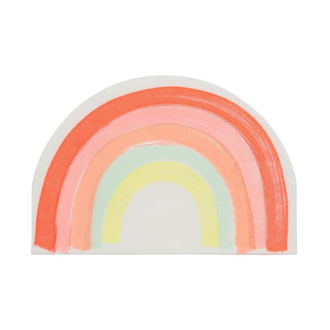 Rainbow Paper Napkins Large - The Pretty Prop Shop Parties, Auckland New Zealand