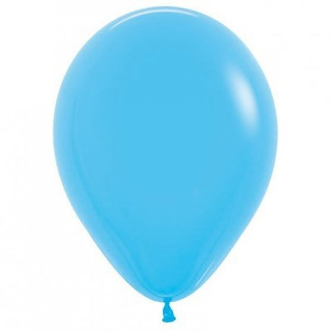 30cm Balloon Blue (Single) - The Pretty Prop Shop Parties, Auckland New Zealand