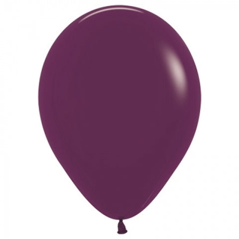 30cm Balloon Burgundy (Single) - The Pretty Prop Shop Parties, Auckland New Zealand