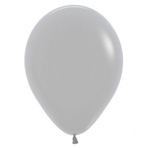 30cm Balloon Grey (Single) - The Pretty Prop Shop Parties, Auckland New Zealand