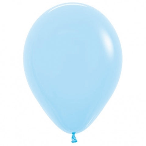 30cm Balloon Light Blue (Single) - The Pretty Prop Shop Parties, Auckland New Zealand