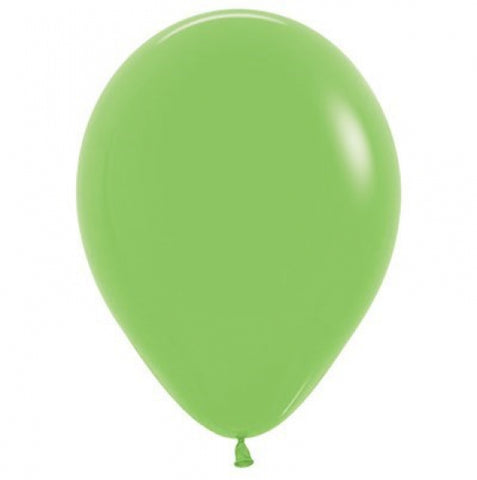 30cm Balloon Lime Green (Single) - The Pretty Prop Shop Parties, Auckland New Zealand