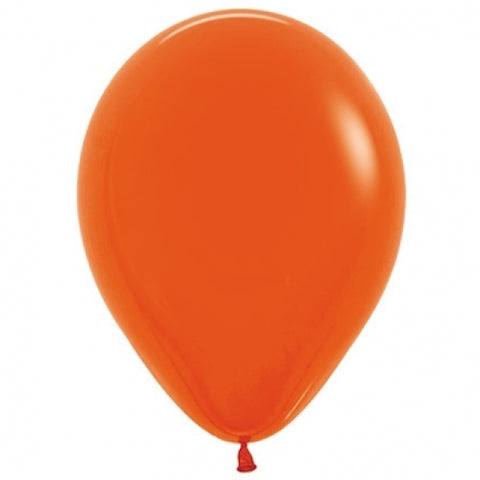 30cm Balloon Orange (Single) - The Pretty Prop Shop Parties, Auckland New Zealand