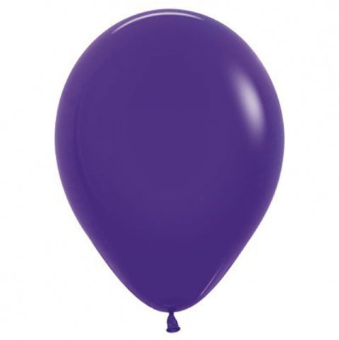 30cm Balloon Purple Violet (Single) - The Pretty Prop Shop Parties, Auckland New Zealand