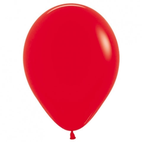 30cm Balloon Red (Single) - The Pretty Prop Shop Parties, Auckland New Zealand