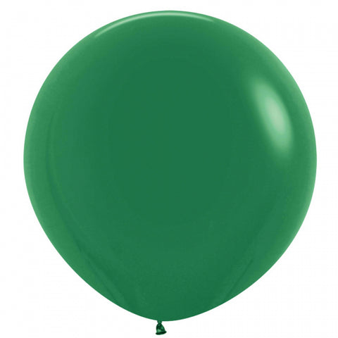 60cm Balloon Forest Green (Single)
