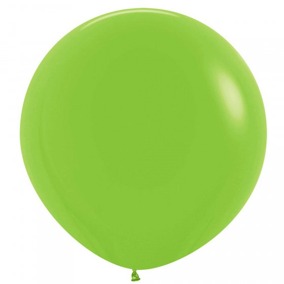 60cm Balloon Lime Green (Single)