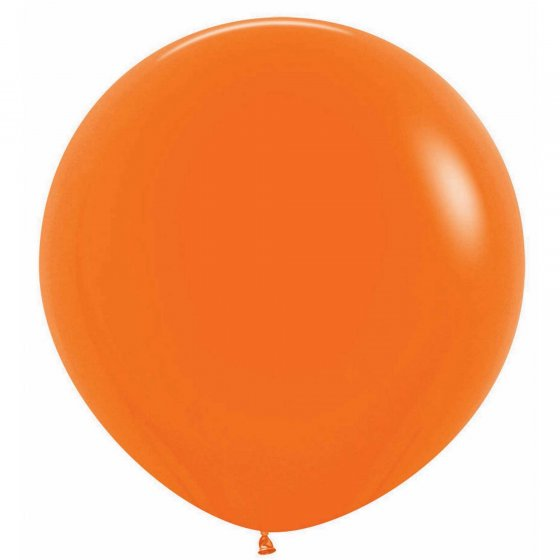 60cm Balloon Orange (Single)