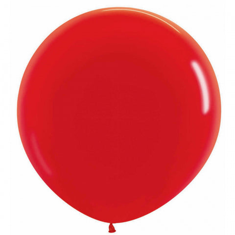 60cm Balloon Red (Single)