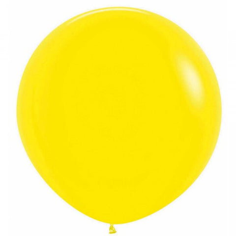 60cm Balloon Yellow (Single)