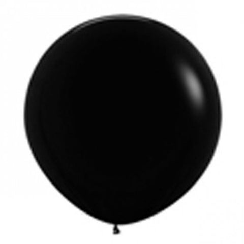 90cm Balloon Black (Single)