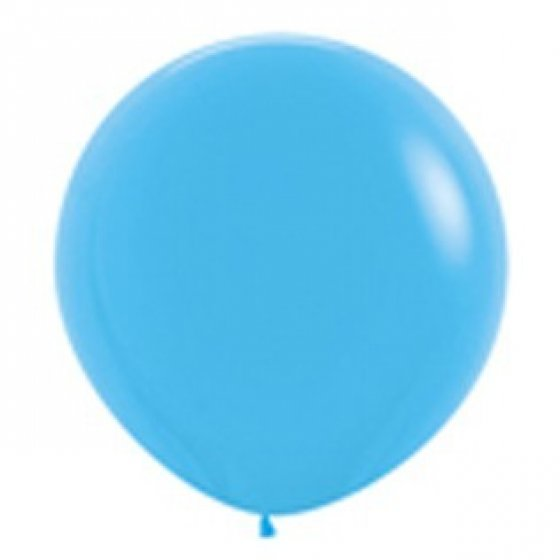 90cm Balloon Blue (Single)