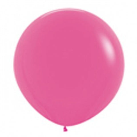 90cm Balloon Fuschia (Single)