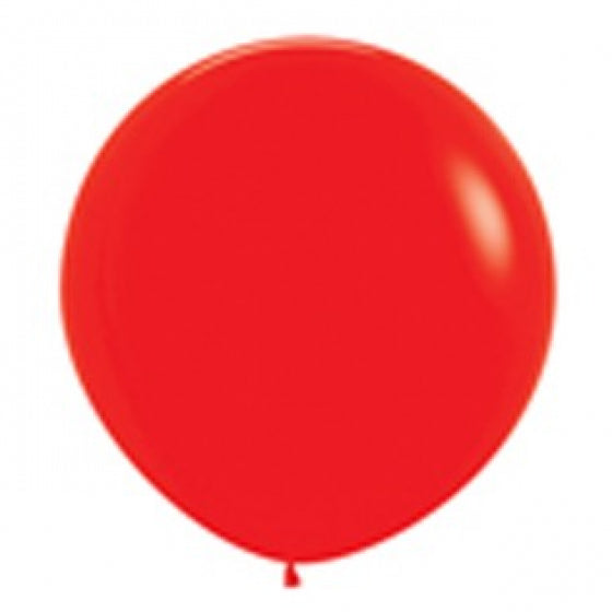 90cm Balloon Red (Single)