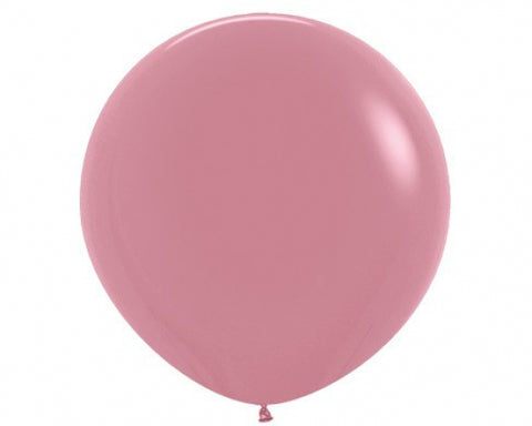 90cm Balloon Rosewood (Single)