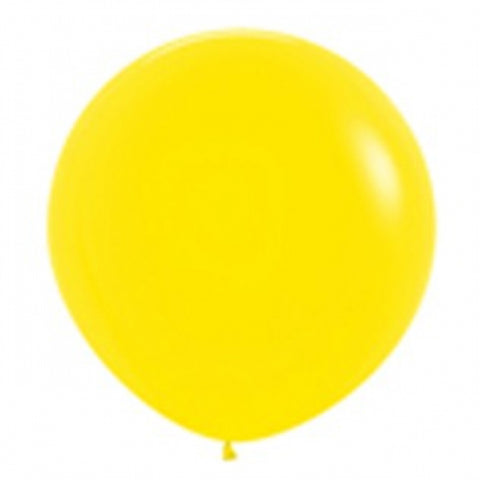 90cm Balloon Yellow (Single)