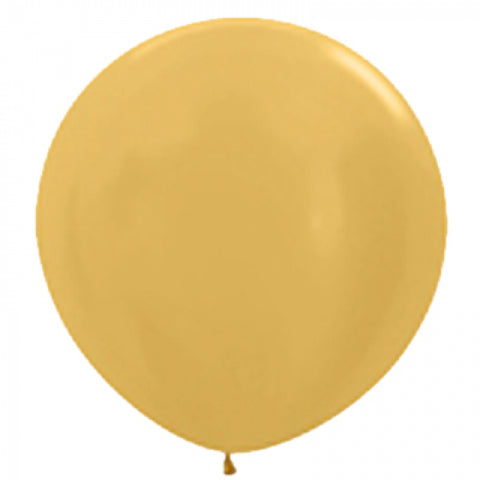 90cm Balloon Metallic Gold (Single) - The Pretty Prop Shop Parties, Auckland New Zealand