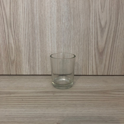 Shot Glass Tealight Holder Clear - The Pretty Prop Shop Parties, Auckland New Zealand