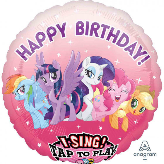 Sing A Tune My Little Pony Happy Birthday Balloon