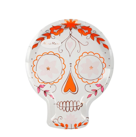 Sugar Skull Plates - The Pretty Prop Shop Parties, Auckland New Zealand