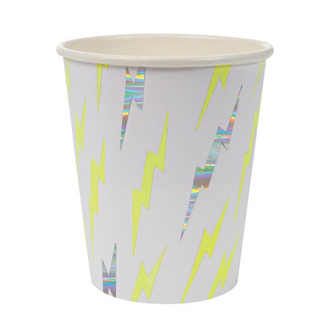 Zap! Superhero Paper Cups - The Pretty Prop Shop Parties, Auckland New Zealand