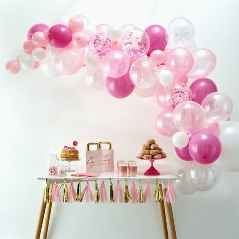 Balloon Arch Kit - Pink - The Pretty Prop Shop Parties, Auckland New Zealand
