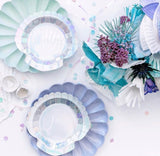 Shell Plates - The Pretty Prop Shop Parties, Auckland New Zealand