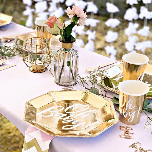 Gold Baby Table Confetti - Oh Baby!