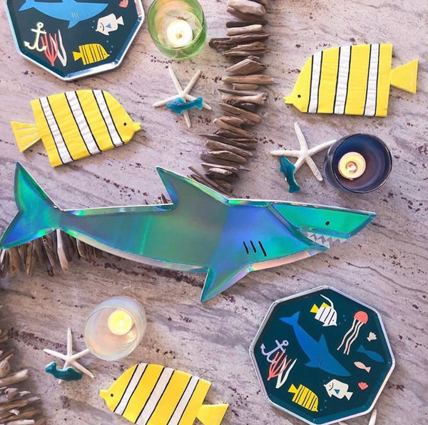 Under the Sea Plates - The Pretty Prop Shop Parties, Auckland New Zealand