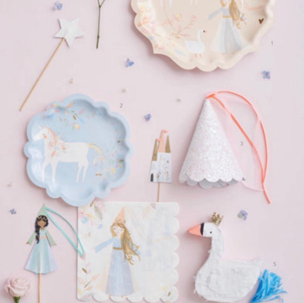 Magical Princess Napkins - The Pretty Prop Shop Parties, Auckland New Zealand