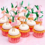 Flamingo Cupcake Kit - The Pretty Prop Shop Parties, Auckland New Zealand