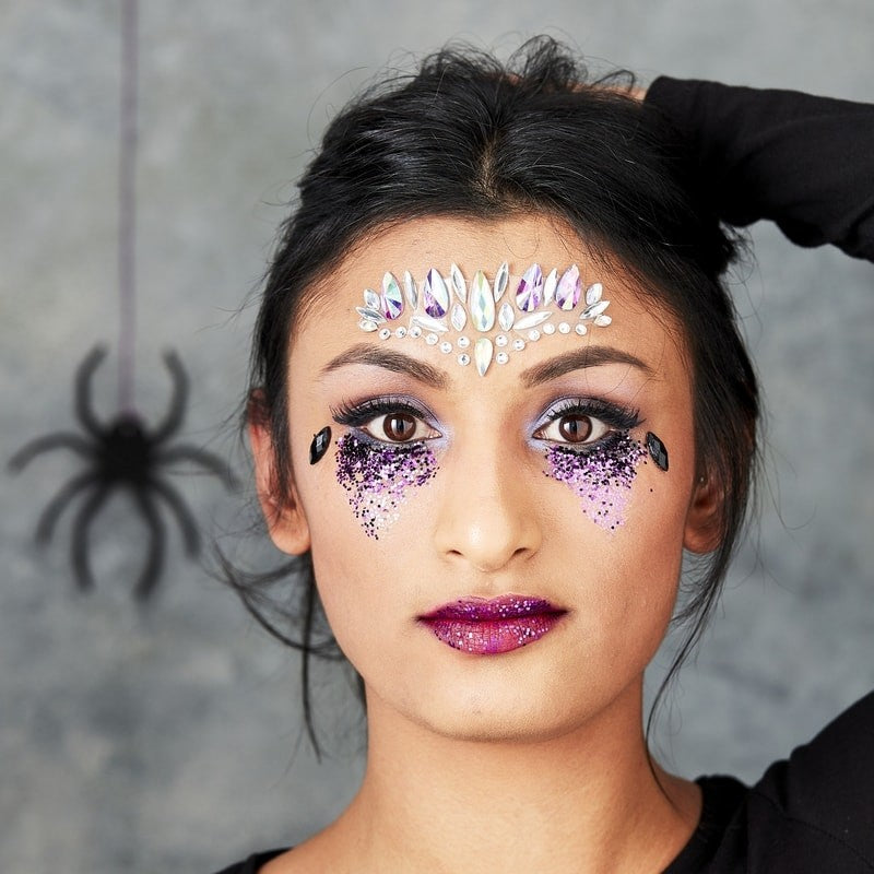 Halloween Glitter & Face Gems Fancy Dress - The Pretty Prop Shop Parties, Auckland New Zealand