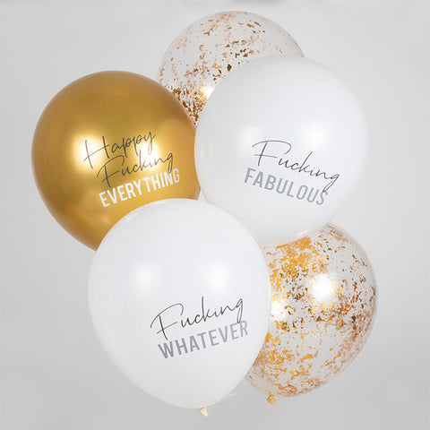 Happy Fucking Everything Party Balloons
