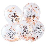 Oh Baby Printed Confetti Balloons - Twinkle Twinkle - The Pretty Prop Shop Parties, Auckland New Zealand