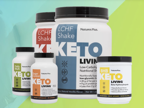 KetoLiving supplements from Natures Plus