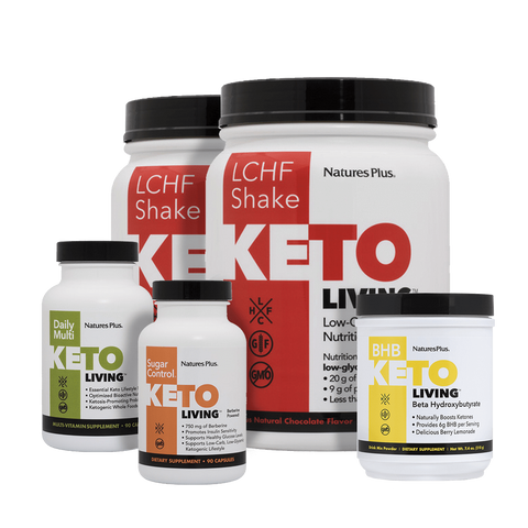KetoLiving™ products support a healthy ketogenic lifestyle.