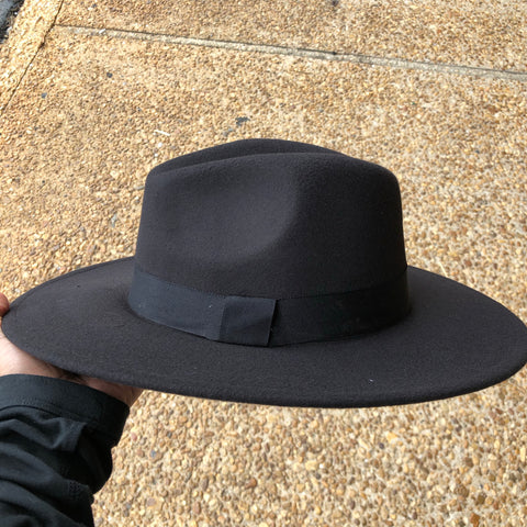 Fedora Hat (Black)