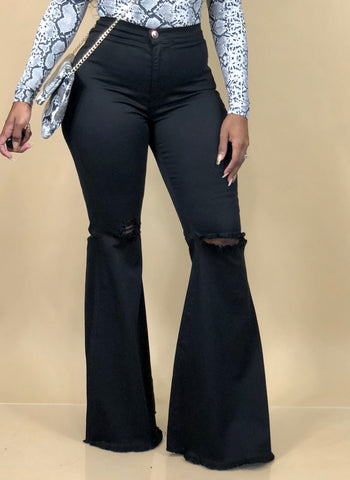 In My Flare 2 Jeans (Black)