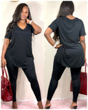 Easy Going Legging Set (Black)